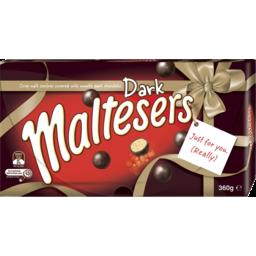Photo of Maltesers Dark Gft Box 360g