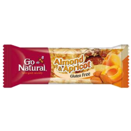 Photo of Go Natural Almond & Apricot Bar 40gm