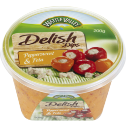 Photo of W/Val Delish Pprsweet&Feta Dip 200g