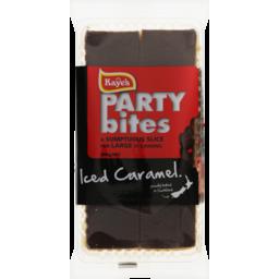 Photo of Kaye's Party Bites Iced Caramel Slice 300g