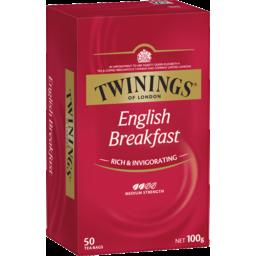 Photo of Twinings English Breakfast Teabags 50s