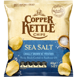Photo of Copper Kettle Chips Sea Salt 40g