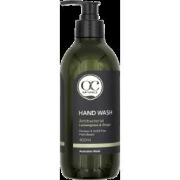 Photo of Oc Naturals Antibacterial Hand Wash Lemongrass & Ginger 400ml
