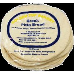 Photo of Greek Pita Bread Small (10 Pack)