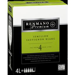 Photo of Renmano Premium Semillon Sauvignon Blanc