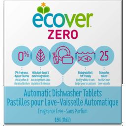 Photo of Ecover Dishwashing Tablets - Zero (Fragrance Free) 25 Tabs