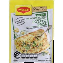 Photo of Maggi  Sour Cream Chives Potato Bake 21g
