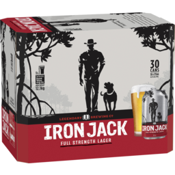 Photo of Iron Jack Full Strength Lager Cans