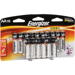 Photo of Energizer Max Aa 16pk