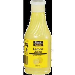 Photo of Black & Gold Lemon Juice 250ml