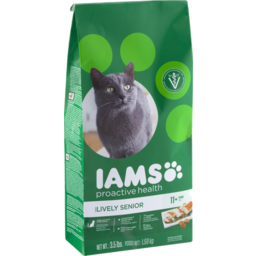 Photo of Iams Proactive Health Healthy Senior Dry Cat Food 3.5 Pounds