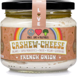 Photo of Peace Love & Vegetables Cheese - Cashew With French Onion