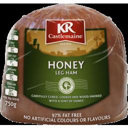 Photo of Kr Castlemaine Krc Honey Boneless Ham 750g