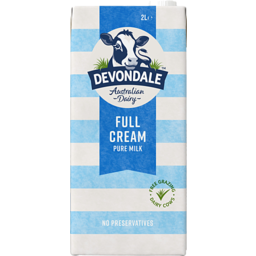 Photo of Devondale Full Cream Milk 2l
