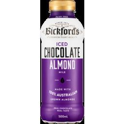 Photo of BICKFORDS ICED CHOCOLATE ALMOND MILK500ML