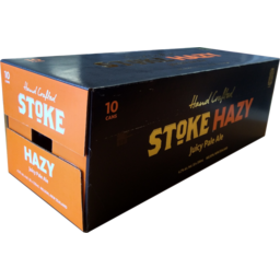 Photo of Stoke Beer Hazy Pale Ale 10 Pack X 330ml