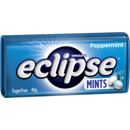 Photo of Wrigleys Eclipse Peppermint Mints
