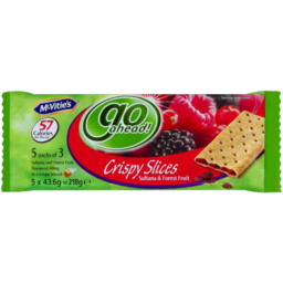 Photo of Mcvities Go Ahead Sultana & Forest Fruit 218gm