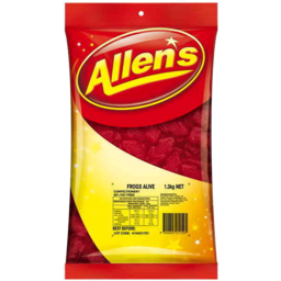Photo of Allens Red Frogs 1.3kg