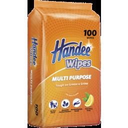 Photo of Handee Multi Purpose Wipes 100 Pack