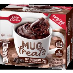 Photo of Betty Crocker Mug Treats Triple Chocolate Cake