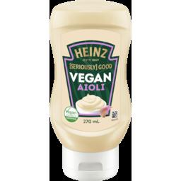 Photo of Heinz Seriously Good Vegan Aioli 270ml