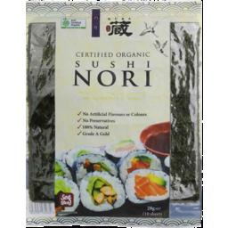Photo of Kura - Sushi Nori Organic - 28g