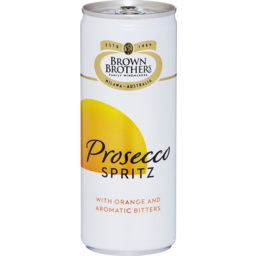 Photo of Brown Brothers Prosecco Spritz Can