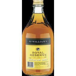 Photo of McWilliam's Royal Reserve Medium Dry