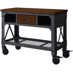 "Photo of Whalen 48"" Metal & Wood Work Bench"