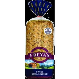 Photo of Freya's Bread Swiss Soya Linseed 750g