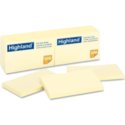 Photo of Highland Notes: 3 X 5 - Yellow