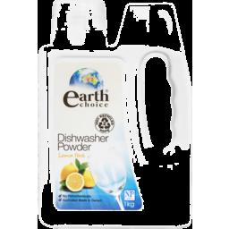 Photo of Earth Choice Dishwasher Powder Lemon Fresh 1kg