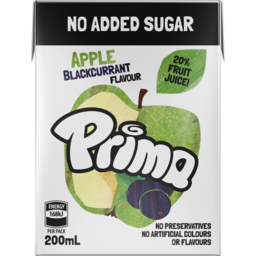 Photo of Prima Apple Blackcurrant Flavour 200ml