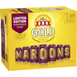 Photo of XXXX Gold Can 375ml 30 Pack