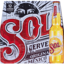 Photo of Sol Cerveza 12x330ml Bottles