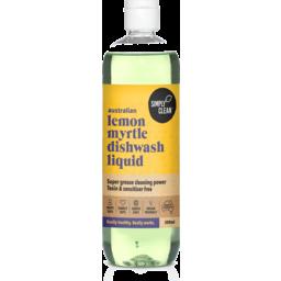 Photo of Simply Clean Dishwash Liquid - Lemon Myrtle 500ml