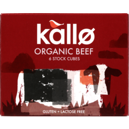 Photo of Kallo Organic Stock Cubes Beef 66g