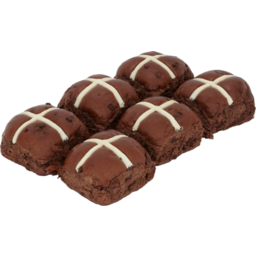 Photo of Hot Cross Buns Chocolate 6 Pack