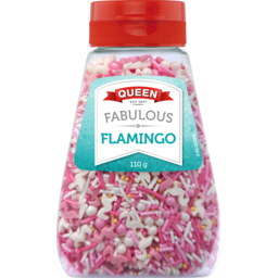 Photo of Queen Fabulous Flamingo Ultimate Sprinkles 110g