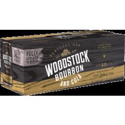 Photo of Woodstock Bourbon & Cola 8% 10x375ml