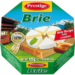 Photo of Prestige Cheese Brie 125gm