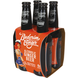 Photo of Buderim Alcoholic Ginger Beer Bottles