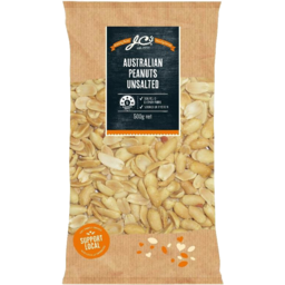 Photo of JC's Peanuts Unsalted Aust 500gm