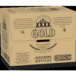 Photo of XXXX Gold Bottles