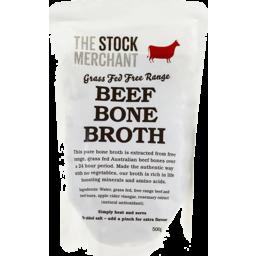 Photo of Stock Mer. Beef Bone Broth 500g
