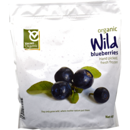 Photo of Viking Wild Blueberry Frozen Organic 400gm