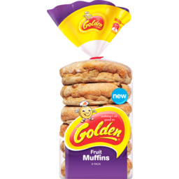 Photo of Golden Muffins Fruit 6 Pack