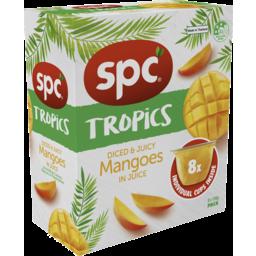 Photo of Spc Tropics Mangoes In Juice 8x120g