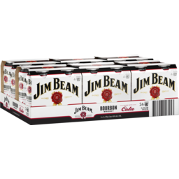 Photo of Jim Beam White & Cola Can 375ml